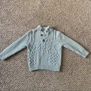 Cat & Jack Sweater with Button Detailing Size 4T